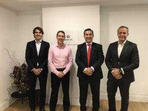 Francisco Trillo, Thiago Pessoa, Francisco García Cabello y Jose María Bascán