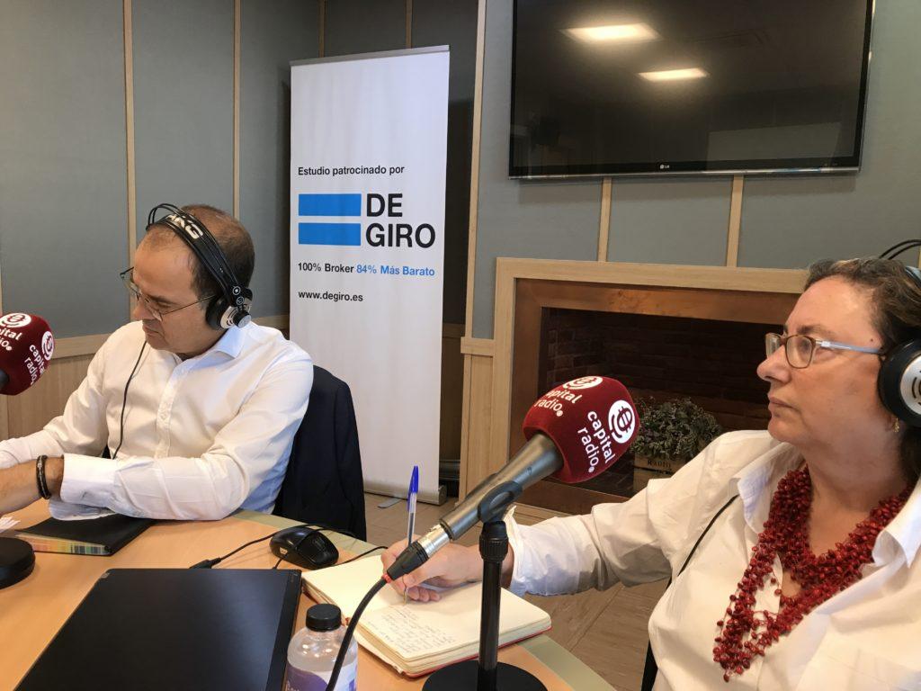 Enrique Zorrilla y Marta García