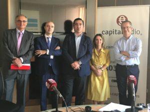 Federico Montilla, Ramón Portela, Francisco García Cabello, Eva Derqui y Javier Fernández Aguado