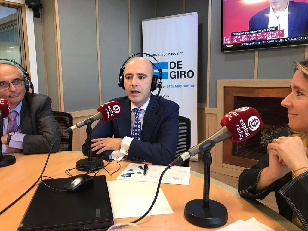 Federico Montilla, Ramón Portela y Eva Derqui