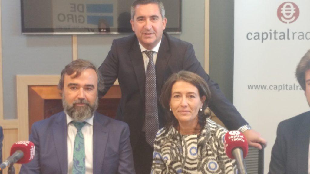 Francisco García Cabello, Enrique Saldaña y Dulce Subirats