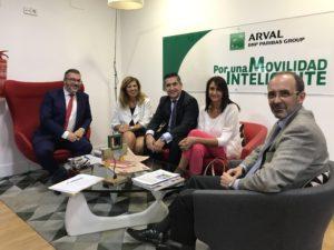 Javier Zubicoa, Ángeles Alcazar, Francisco García Cabello, Elena Cascante y Jorge Moyano