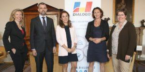 Sylvia Sonnendrucker, César López Ruiz, Mariam Pérez-Camino, Nathalie Bertin y Anne Viard