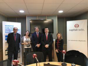 Federico Montilla, Marta García, Cristóbal Paus, Francisco García Cabello y Natalia Fernández