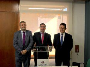 Juan Pablo Borregón, Francisco García Cabello y Juan Carlos Pérez Espinosa