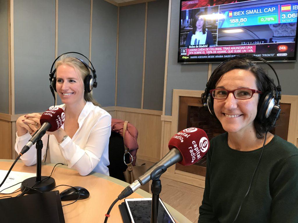 Stephanie Zweifel y María Orellana