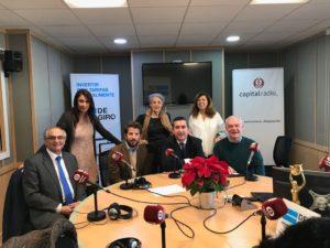 Federico Montilla, Elena Cascante, Vicente González, Eva Levy, Francisco García Cabello, Ángeles Alcázar y Walter Hintz