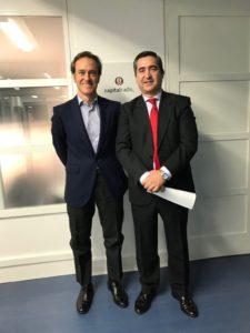 Ignacio de Orúe y Francisco García Cabello