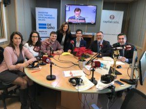 Elena Cascante, Blanca Cobo, Jesús López, Ángeles Alcázar, Gustavo González, Javier Zubicoa y Francisco García Cabello