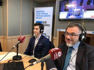 Gustavo González y Javier Zubicoa