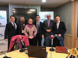 Juan Carlos Pérez Espinosa, Ángel Aguilar, Paloma Fuentes, Francisco García Cabello, Federico Montilla y Luis Vicente Muñoz