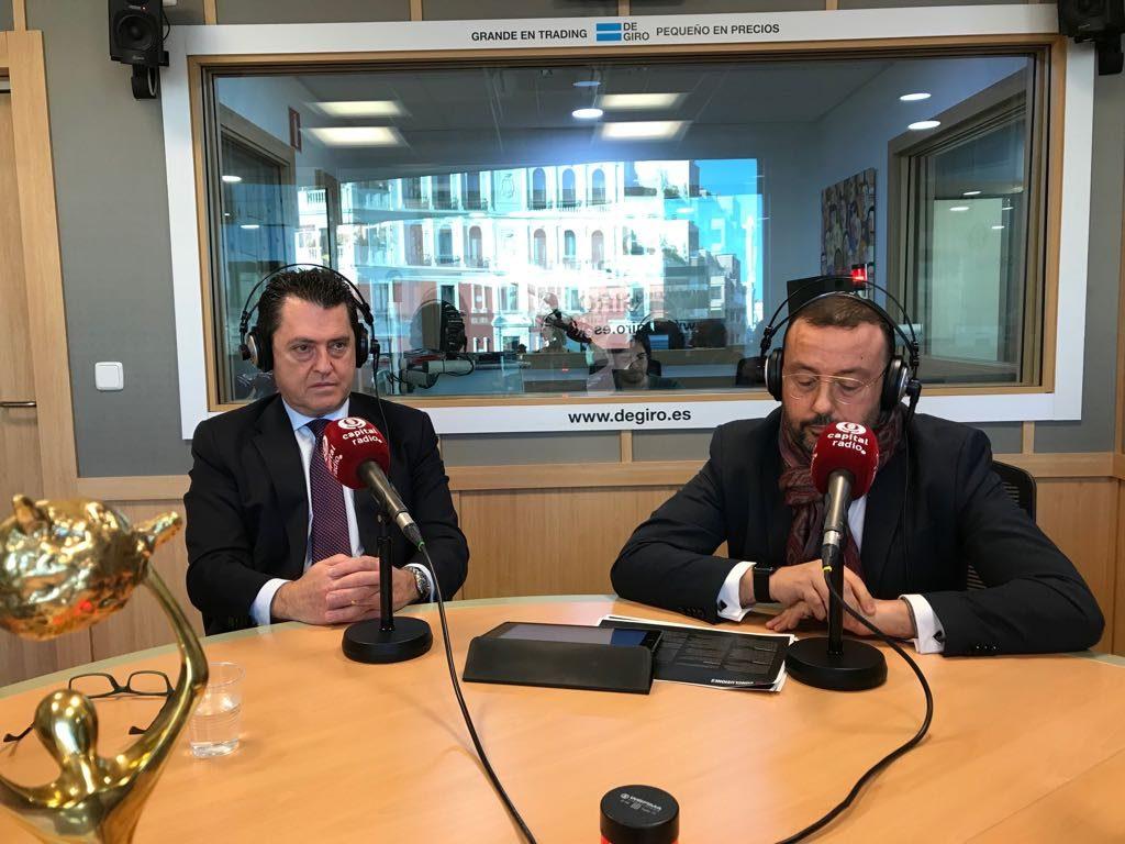 Juan Carlos Pérez Espinosa y Ángel Aguilar