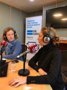 María Gil y Sonia Ansorena