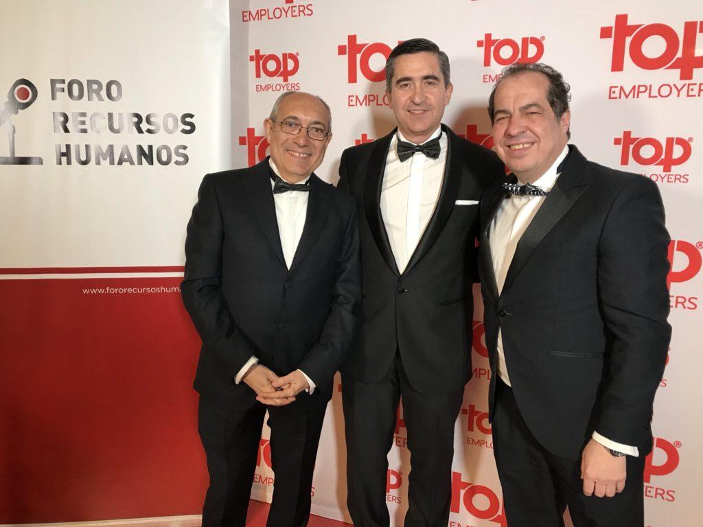 Alfonso Jiménez, Francisco García Cabello y Juan Carlos Cubeiro