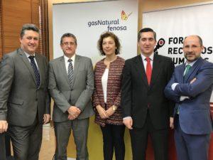 Javier Vega, Ignacio Ortiz, Feliz Ortiz, Francisco García Cabello y Antonio Casado