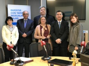 Mónica Zas, Federico Montilla, Marta García, Francisco García Cabello y Cristina Martínez