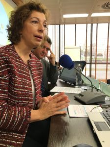 Pilar Feliz y Javier Vega