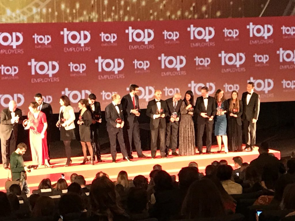 Top Employers Awards