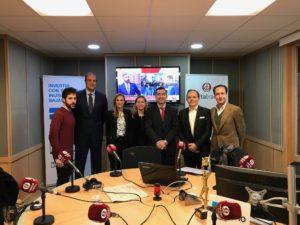Adrián Diaz-Caneja, Fran Murcia, Montserrat López, Gemma Corte, Francisco García Cabello, Luis Manuel González y Jose Luis Montesinos
