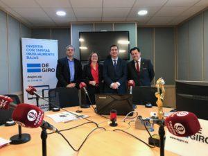 Alberto Pérez, Marta García, Francisco García Cabello y Manuel Pinardo