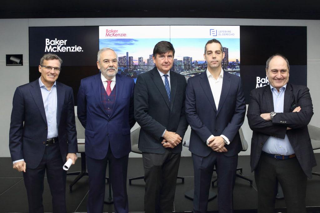 José Ángel Sandín, Juan Pujo, Manuel Pimentel, Juan Tinoco y Javier Cantera