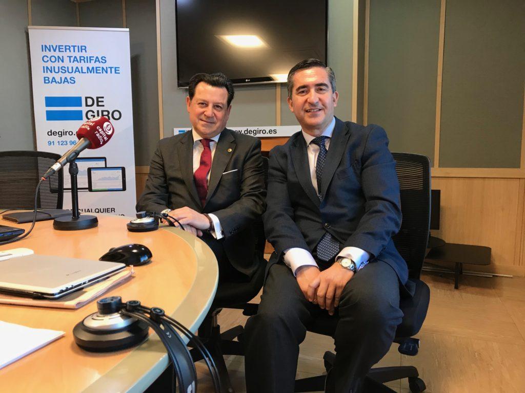 Manuel Pinardo y Francisco García Cabello