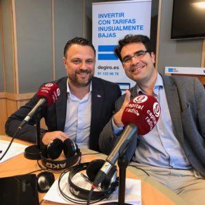 Adrián Cepedal y Francisco de la Calle