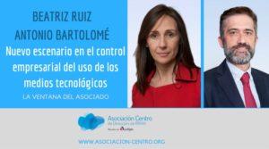 Beatriz Ruiz y Antonio Bartolomé