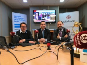 Pere Torrens, Francisco García Cabello y Guillermo Murciano