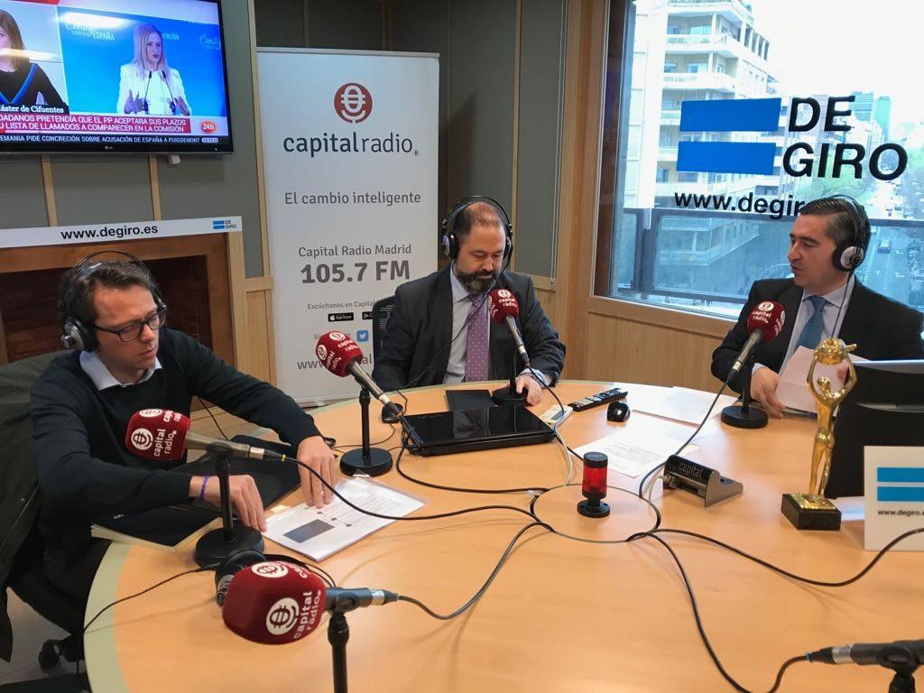 Pere Torrens, Guillermo Murciano y Francisco García Cabello