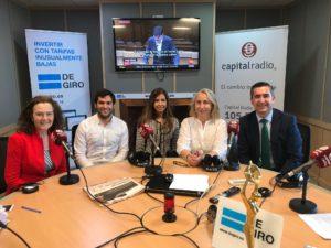Almudena Rodríguez, Víctor García, Laura Morcillo, Mónica Lurguie y Francisco García Cabello