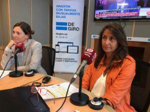 Cristina Martín y Elena Cascante
