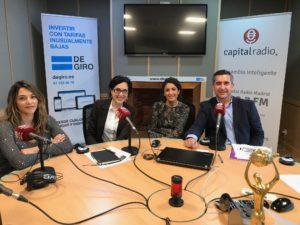 Maria Eugenia Castro, Elena Giménez Amaya Romero y Francisco García Cabello