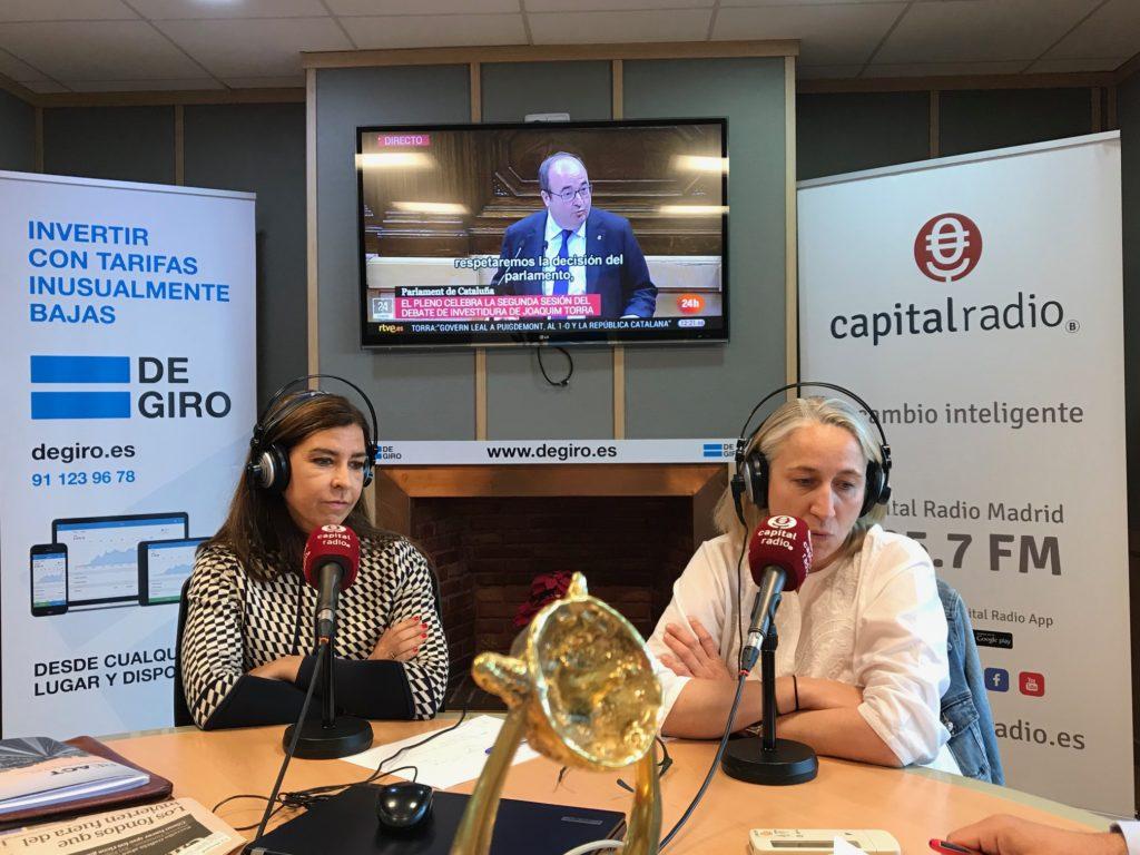 Mónica Larguie y Laura Morcillo