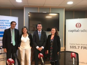 Antonio Vázquez, Maribel Rodríguez, Francisco García Cabello y Sarai Domíngez