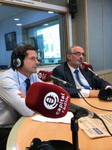 Borja Prado y Federico Montilla