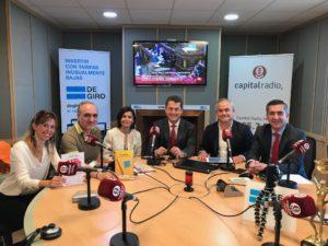 Lorena Renzi, Salvador Molina, Raquel de la Viña, Juan Carlos Pérez Espinosa, Francisco Mesonero y Francisco García Cabello