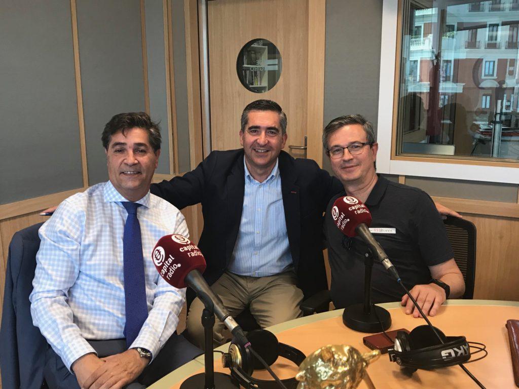 Luis Expósito, Francisco García Cabello y Enrique Rodríguez