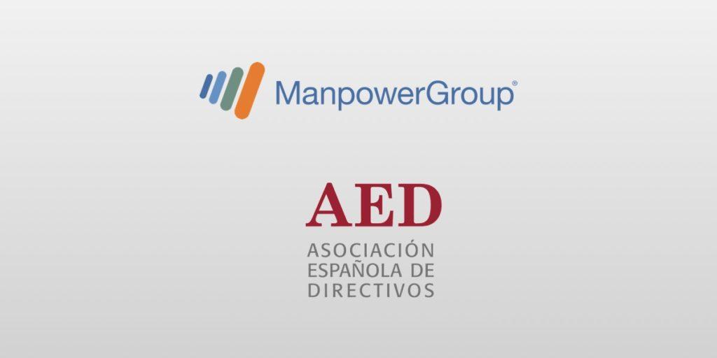 Logos de ManpowerGroup AED