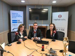 Maribel Rodríguez, Francisco García Cabello y Sarai Domínguez