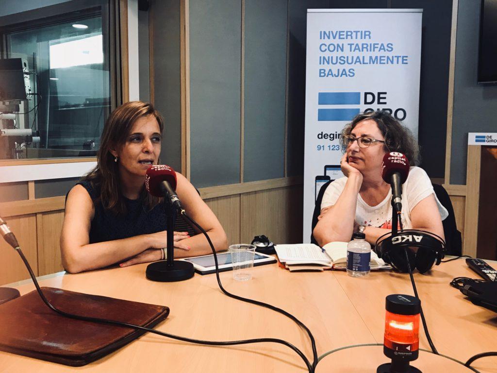 Mariló de Cacho y Marta García