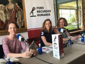Christine Loos, Sonia de Ansorena y María Gil