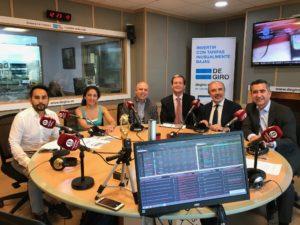 Eduardo Olmos, Amaya Romero, José Ignacio Arraiz, Diego Sánchez de León, Plácido Fajardo y Francisco García Cabello