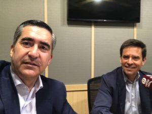 Francisco García Cabello y Eduardo Dávila