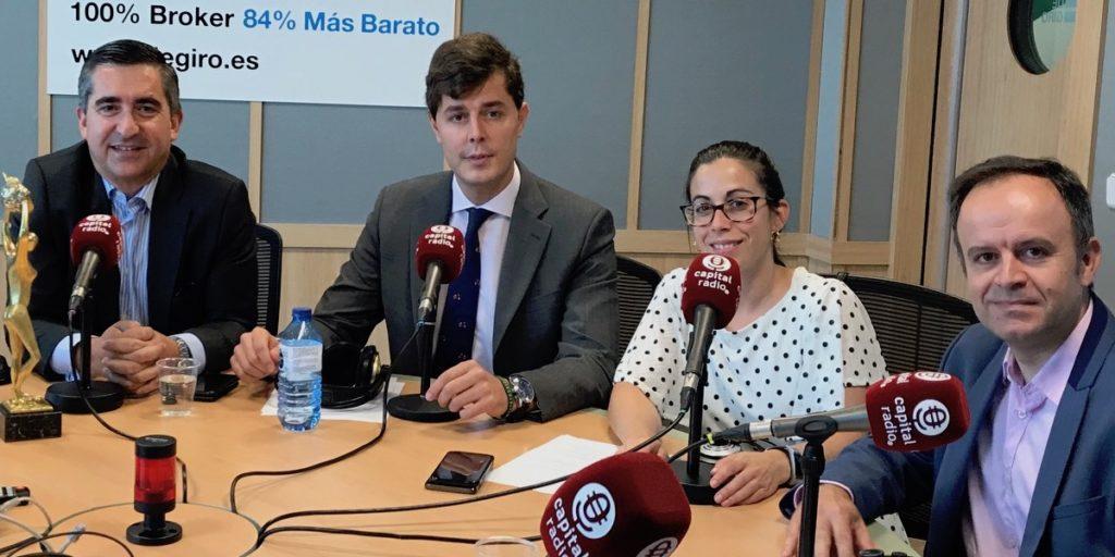 Francisco García Cabello, Sergio Carrascal, Belén Vílchez y David López