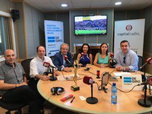 Jesús Carrasco, Aurelio López-Barajas, Hilario Alfaro, Mirian Izquierdo, Sandra Pina y Francisco García Cabello
