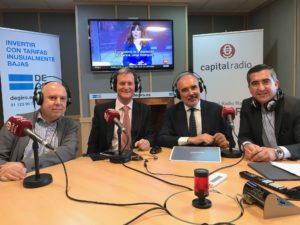 José Ignacio Arraiz, Diego Sánchez de León, Plácido Fajardo y Francisco García Cabello