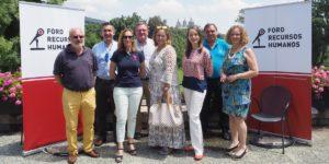 José Ignacio Villant, Francisco García Cabello, Sonia de Ansorena, Enrique Gil, Soledad Rodríguez, Christine Loos, Fernando Blanco y María Gil