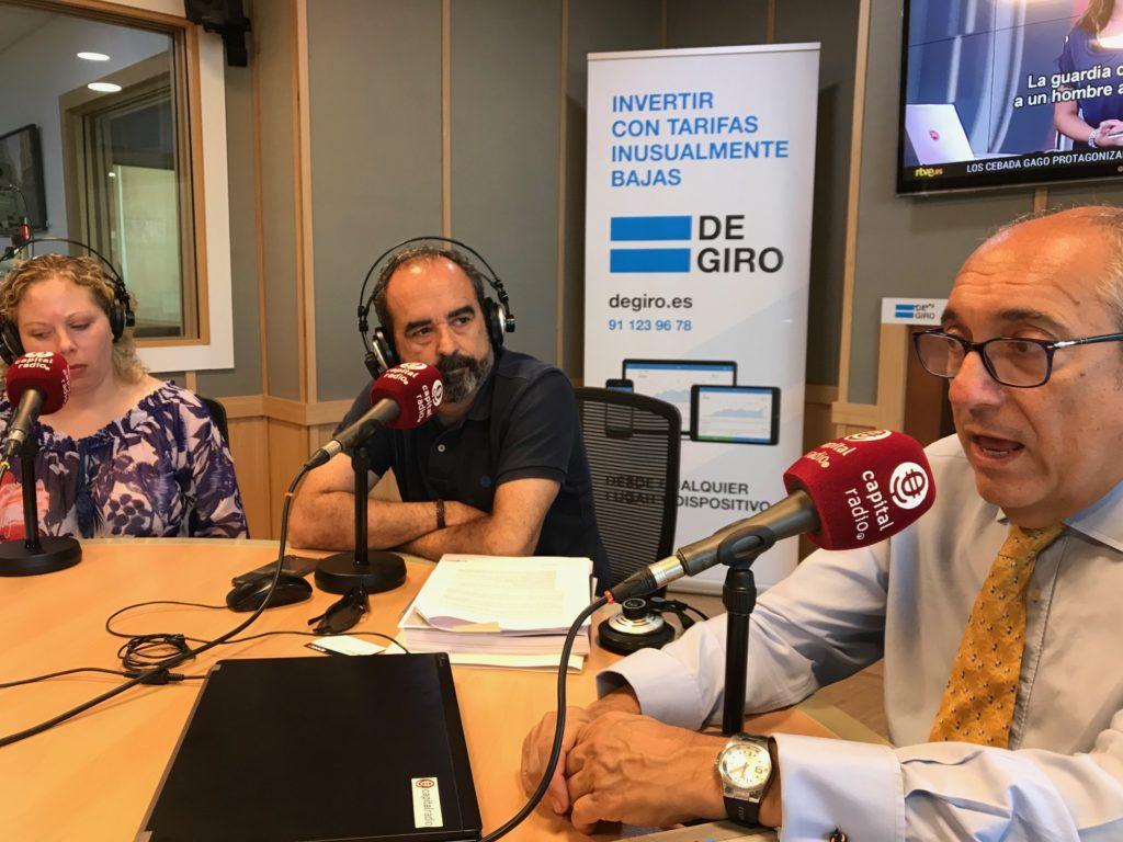 Lucía Fernández de la Plata, Enrique Bello y Alfonso Jiménez