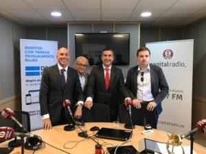 Joaquín Danvila, Juan Suanzes, Francisco García Cabello y David Vivancos